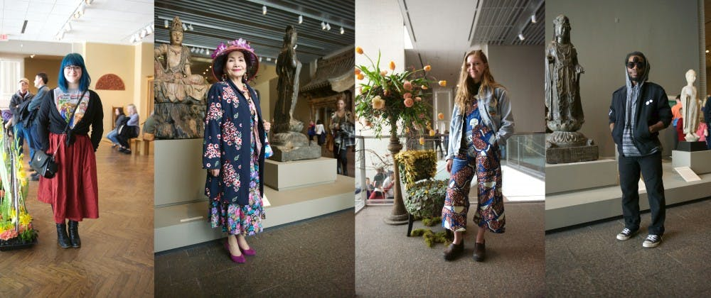 Street style: Art isn't the only thing blooming at Mia