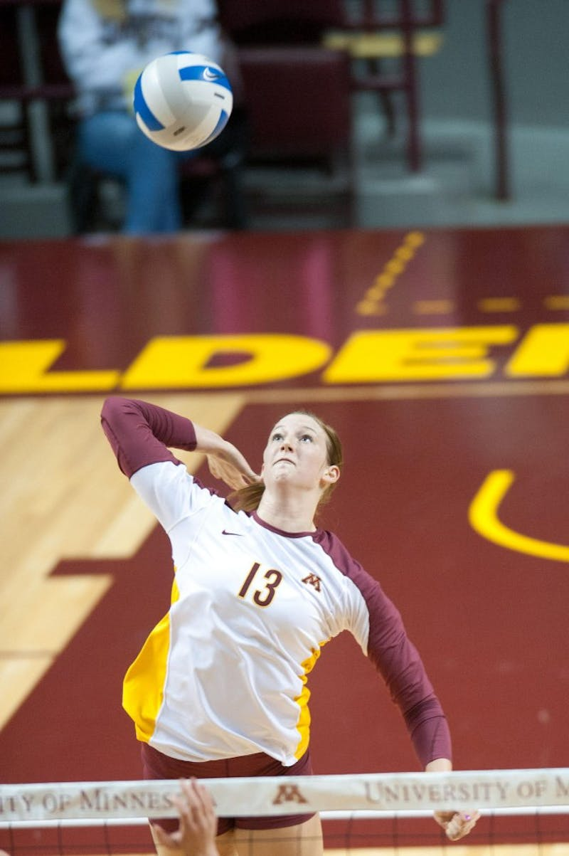 Volleyball | The Minnesota Daily