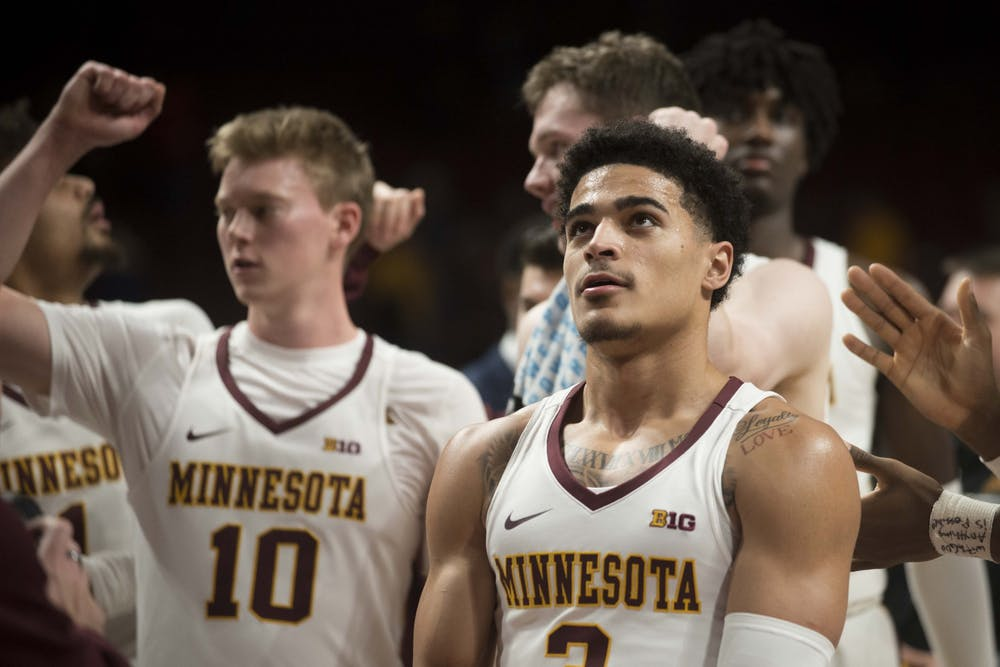 Gophers' men's basketball leans on balanced offense in 77-68 victory over Northwestern