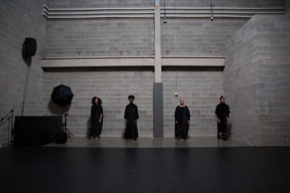 Last weekend at the Walker: Dancing in a void space