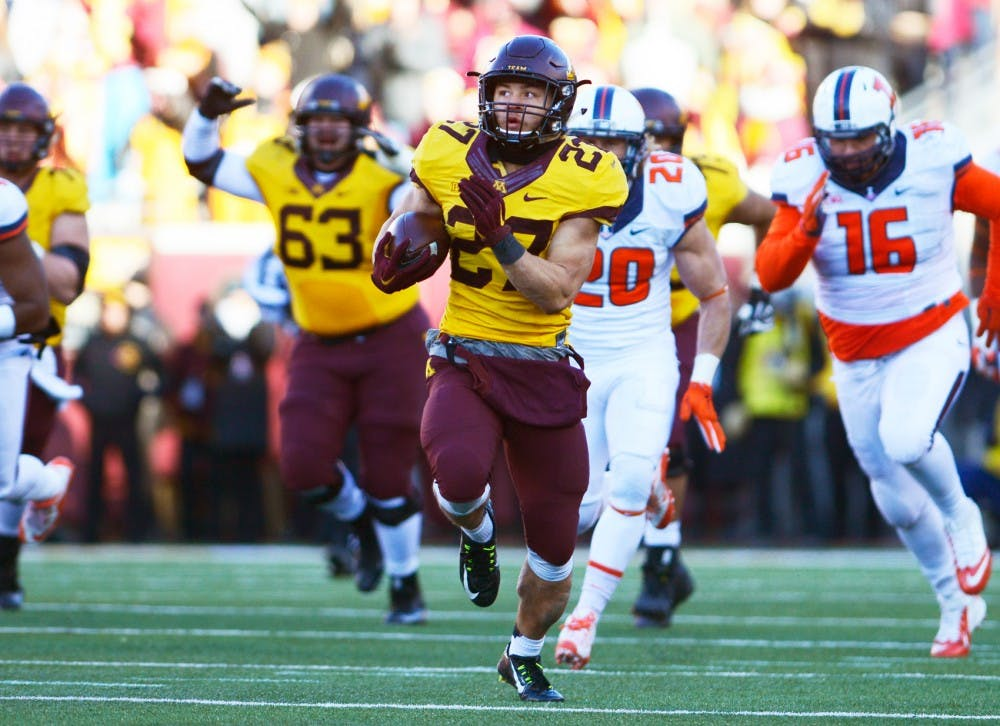 Gophers ready for final non-conference game after early bye week