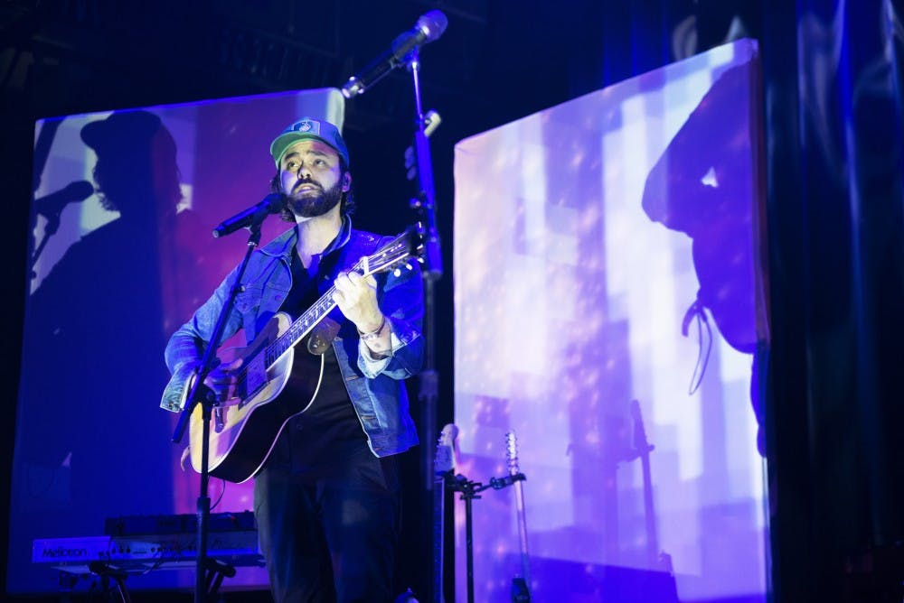 Review: Shakey Graves brings sweat and spirit to the Palace