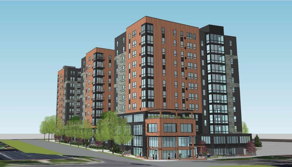 12-story student housing development proposed for Marcy-Holmes