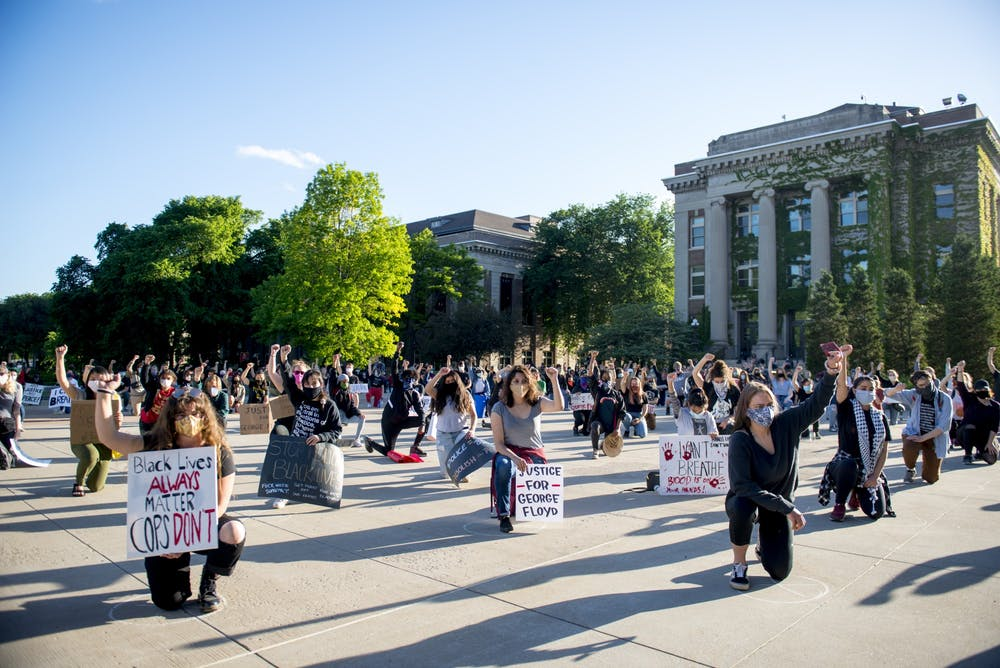 UMN students continue organizing, demonstrating over Floyd killing