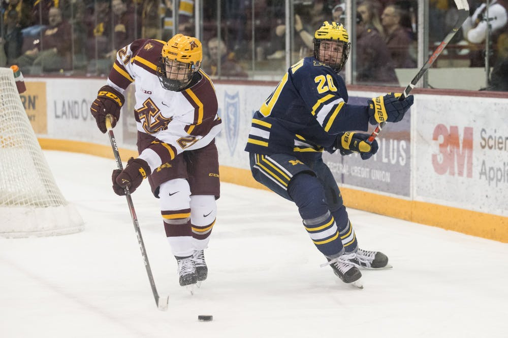 Gophers disappoint in final home series against Michigan