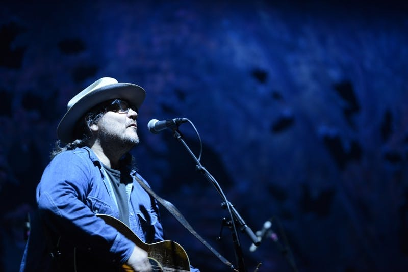 Jeff Tweedy of Wilco performs his set on Saturday, June 17, 2017 at Eaux Claires in Wisconsin. Wilco's performance summated the festival.