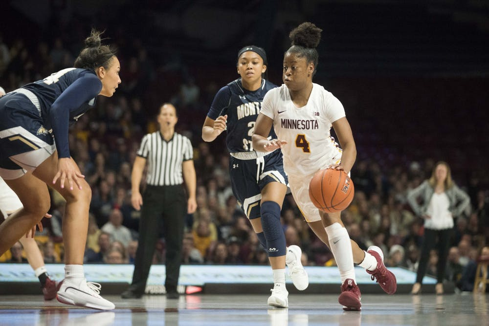 Gophers women's basketball weathers second half storm, beats Notre Dame 75-67