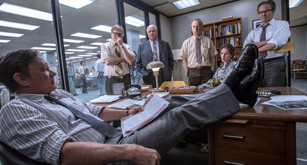 """Review: """"The Post"""" brings spectacle and drama to journalistic history"""