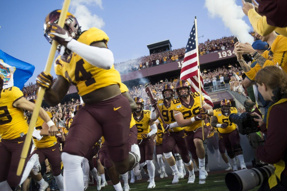 Shunned by College Gameday, Gophers focused on task at hand