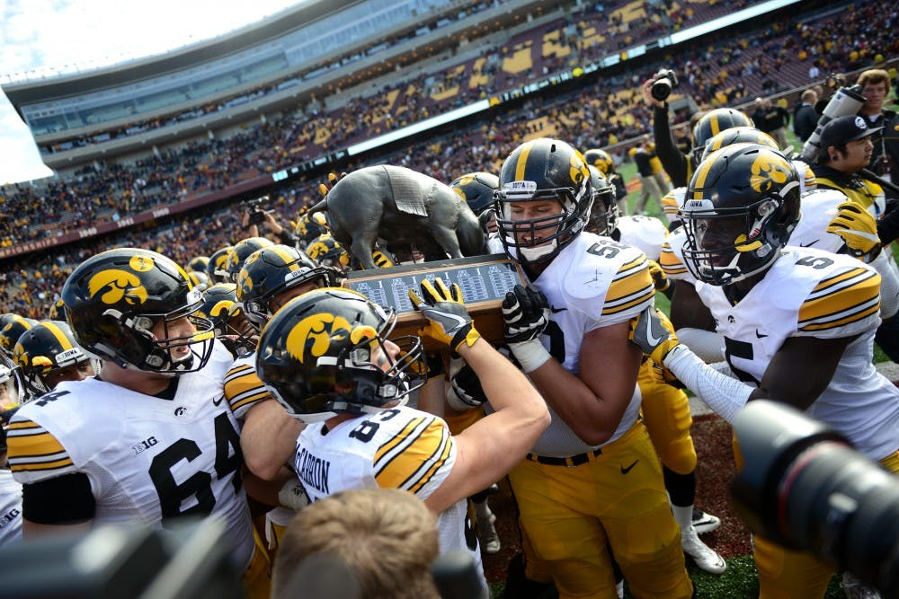 Iowa defeats Minnesota to retain Floyd of Rosedale