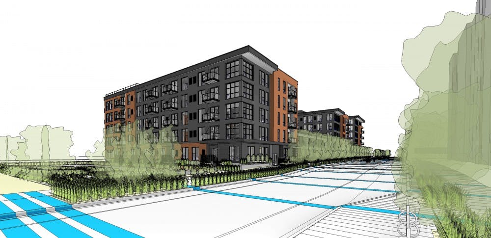 New apartment building being developed for Prospect Park