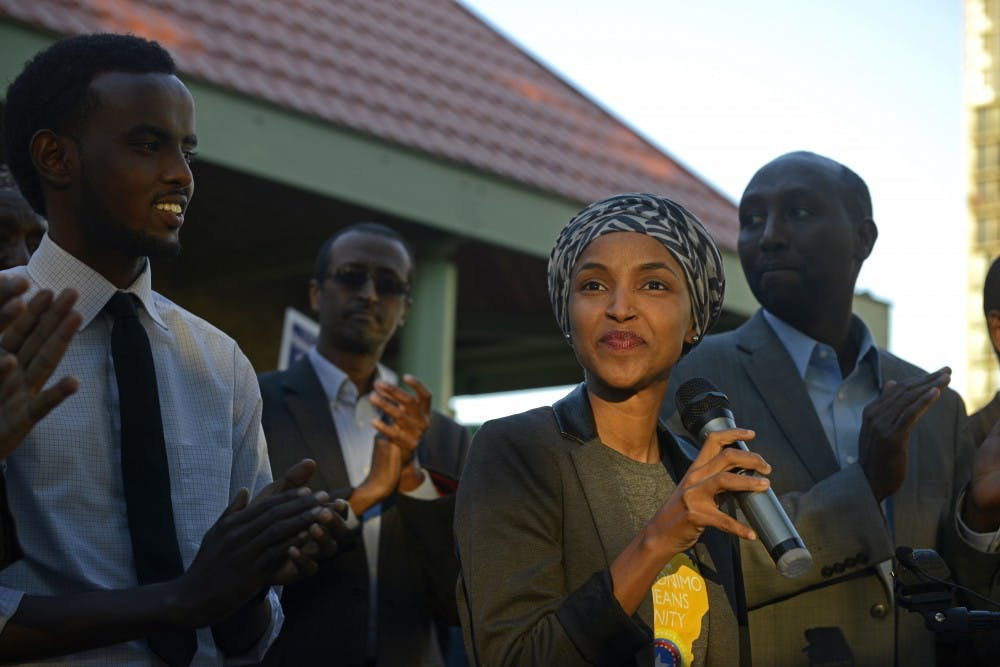 Rep. Ilhan Omar uses legislative offseason to influence city elections, connect with constituents