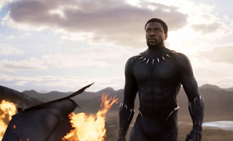 Chadwick Boseman is Black Panther in Marvel's new movie of the same name, which came to theaters Friday.