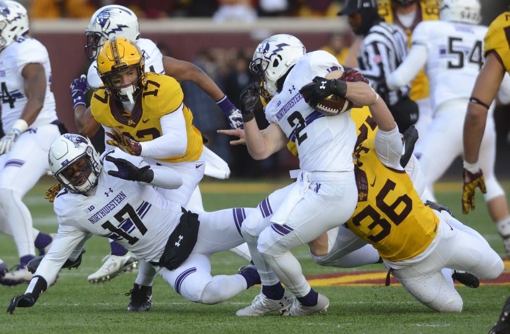Defense leads Minnesota to Saturday victory