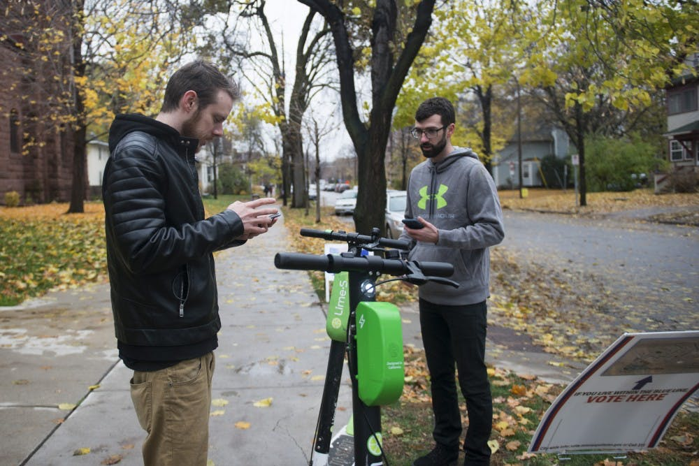 Scooters to return to Minneapolis, UMN campus