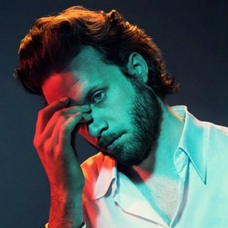 "Father John Misty's ""God's Favorite Customer"" album cover"