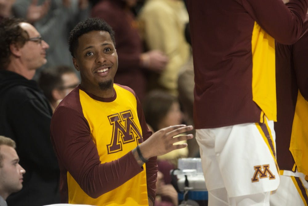 Senior Jarvis Johnson an unheralded leader for the Gophers