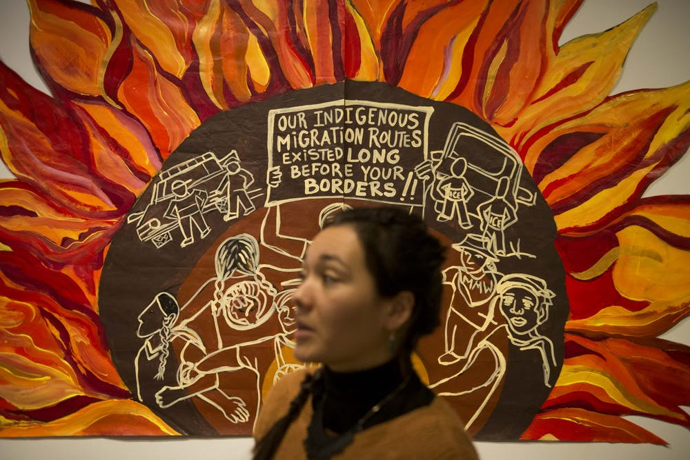 Local artists, activists, community members gather to celebrate 4,000-square-foot mural