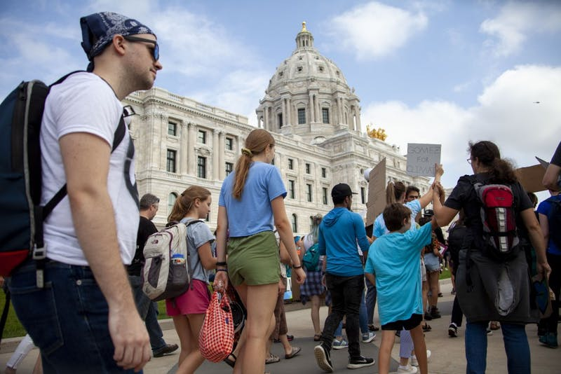 Global Climate Strike at the Minnesota State Capitol: Gallery