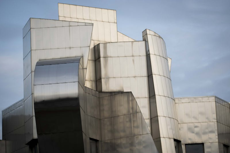The exterior of the Weisman Art Museum, designed by Frank Gehry, as seen on Friday, Nov. 8.