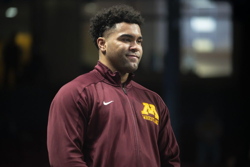 Seven Gophers wrestlers place in Big Ten tournament