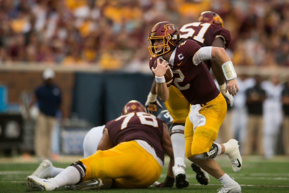 Minnesota survives without leading rushers