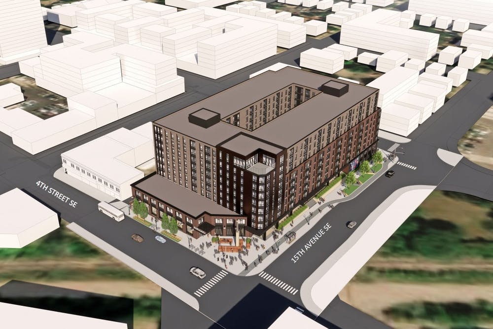 Proposed Dinkytown development scraps 25-story proposal for shorter option