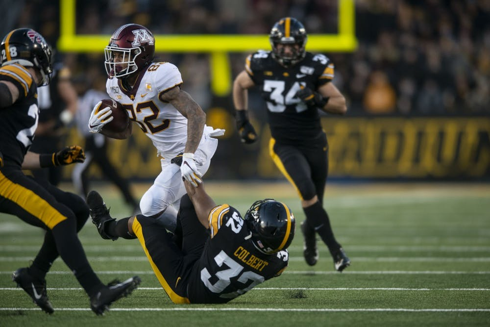 Minnesota falls 23-19 at Iowa in first defeat of the season