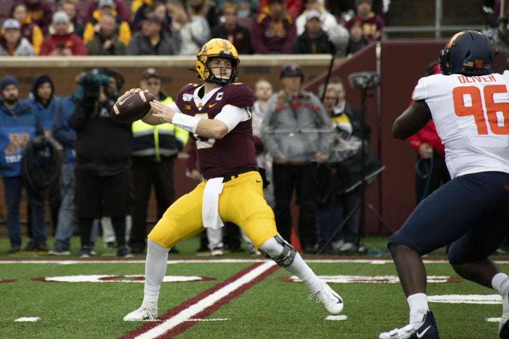 The key to Gophers' success, Tanner Morgan stepping up as leader