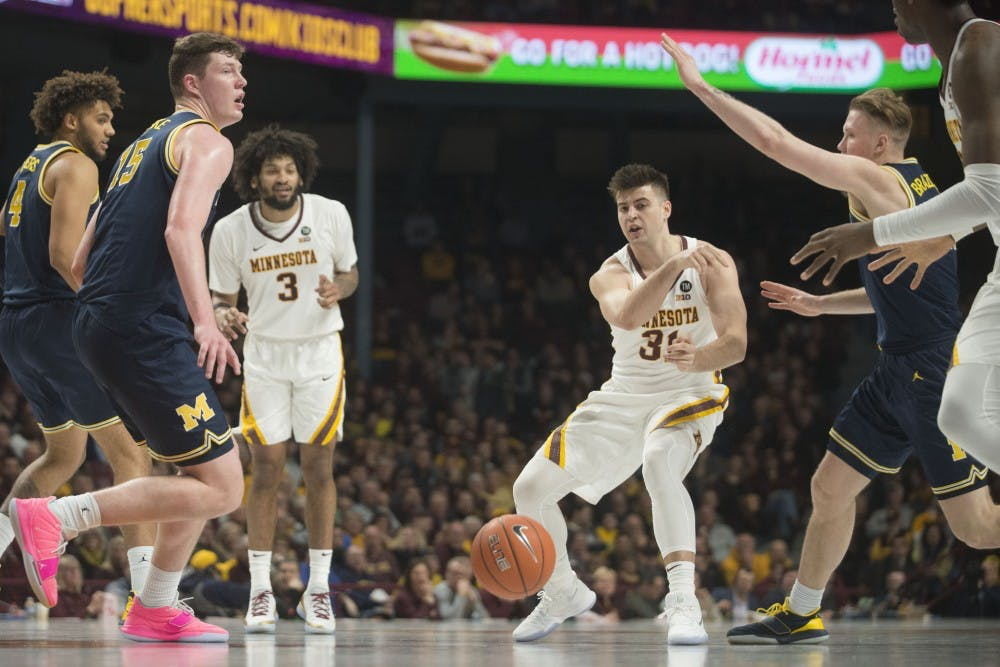 Gophers' March Madness bid in jeopardy
