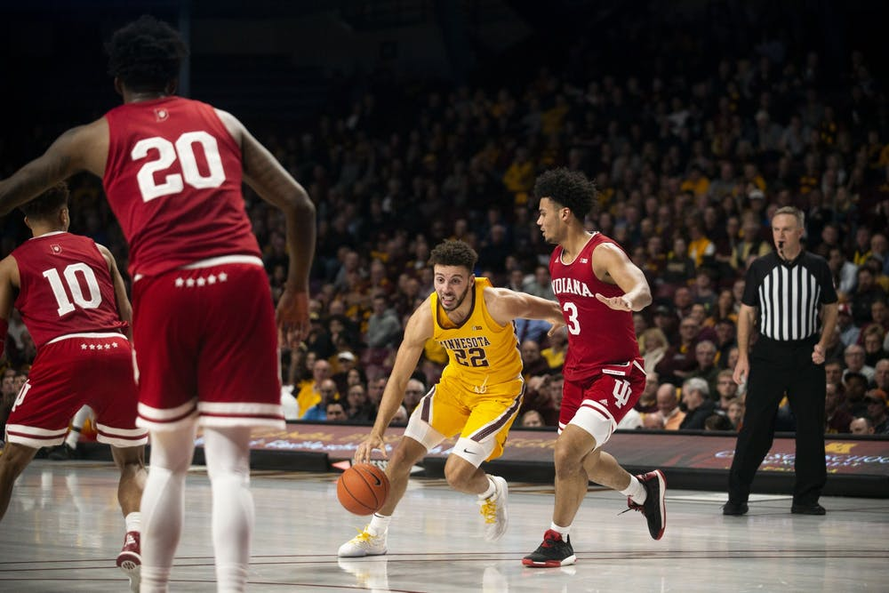Gophers shooting disappears down the stretch in 68-56 defeat to Indiana