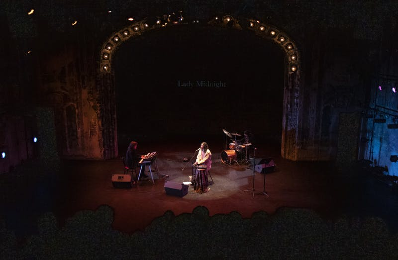 "Lady Midnight performs at The Southern Theater as part of  ""Work in Progress,"" a show that showcases original music and written works about mental health and the creative process on Saturday, Feb. 8."