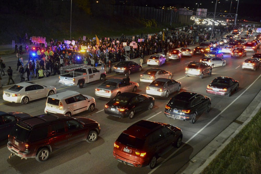If passed, two MN bills would require highway protesters to pay police costs