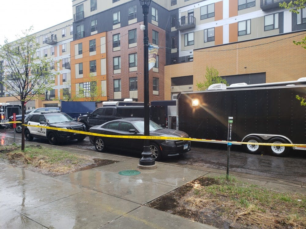 FBI investigating scene at the Marshall apartments in Dinkytown