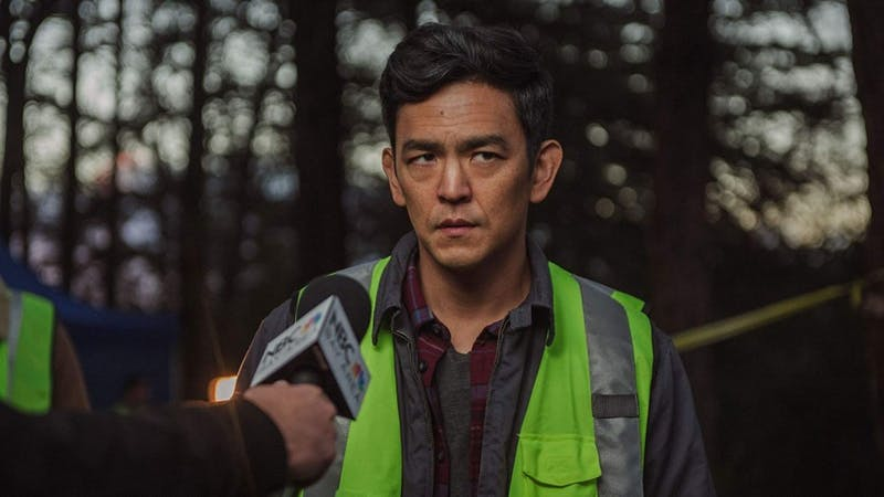 "John Cho stars in horror film, ""Searching."""