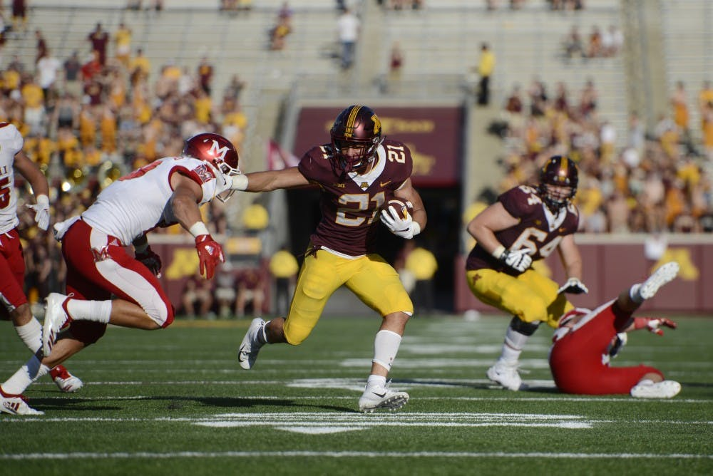Gophers rout Miami for third consecutive win