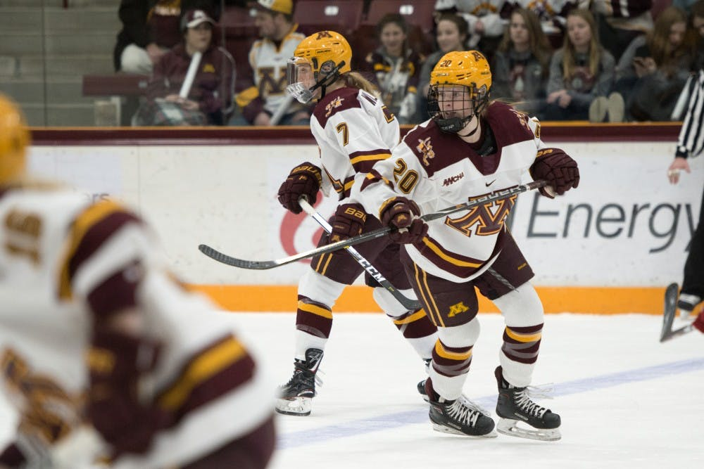 WCHA: Women - Alex Woken's Intelligence Helps Gophers Play Smart Hockey