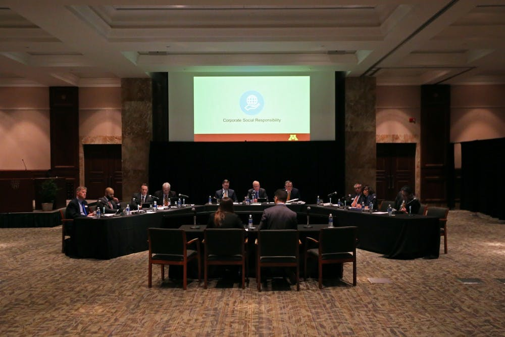 UMN students ask regents to focus on diversity, student privacy