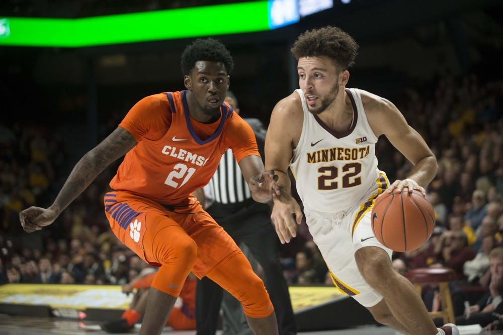 Non-conference schedule provides Gophers' men's basketball with early challenges