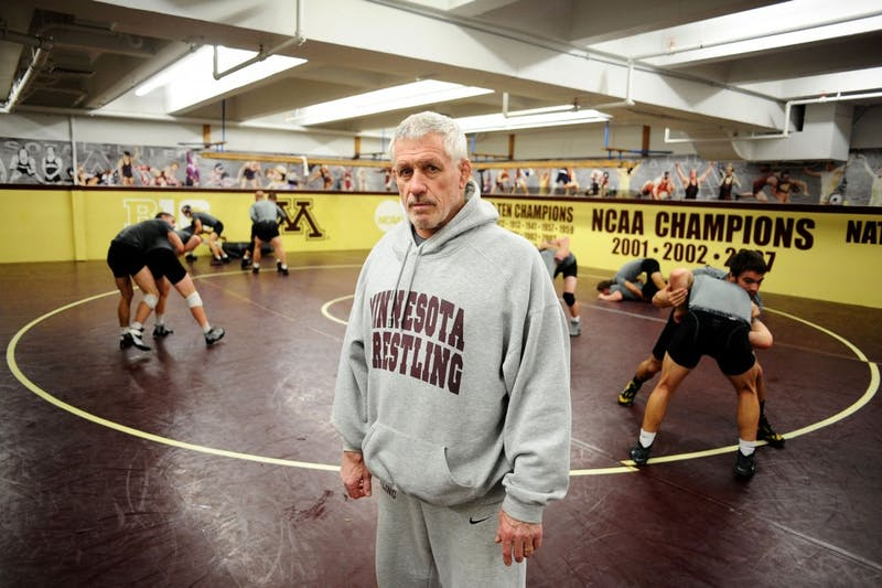Former Gophers wrestling head coach J Robinson would be entering his 30th season of coaching Minnesota, but was fired Wednesday, Sept. 7, 2016. Robinson was originally put on paid administrative leave on June 1.
