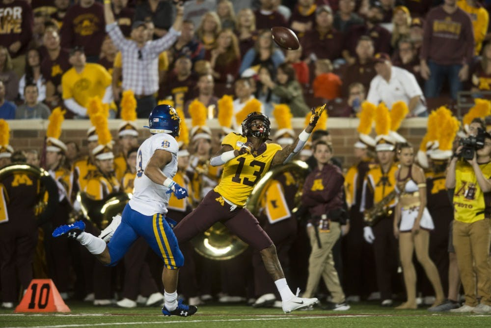 Gophers wide receiver Rashod Bateman coming into his own in year two