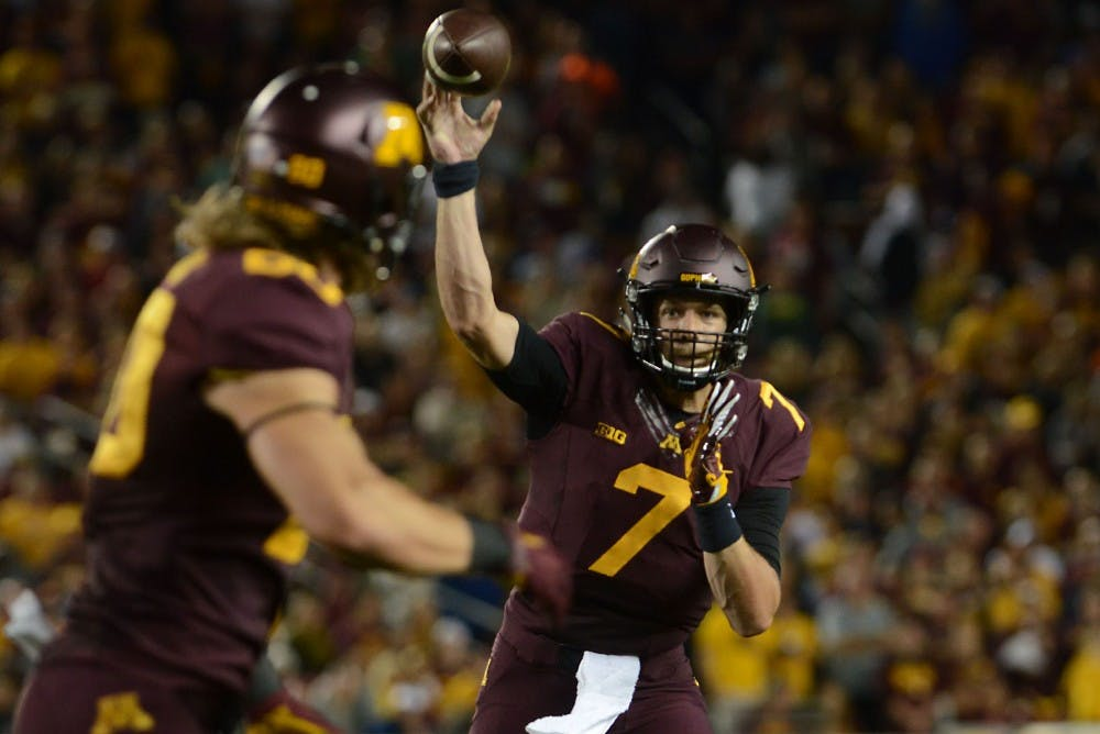 After rocky start, Gophers defeat Oregon State Beavers in season opener