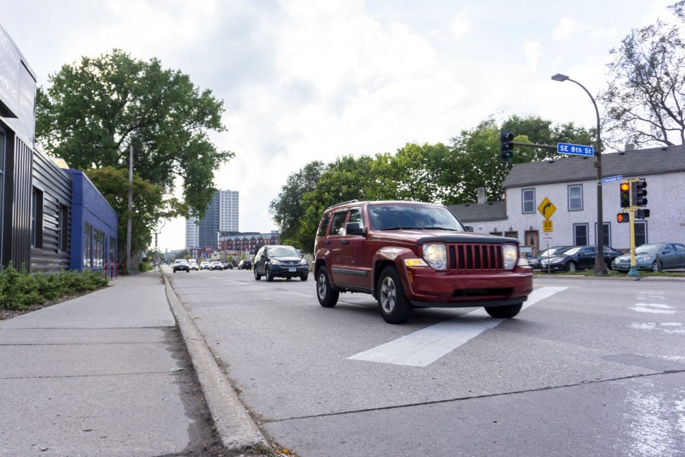 Bike lane improvements could increase traffic in Marcy-Holmes