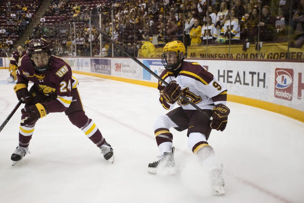 Gophers make comeback to split opening weekend at Colorado College