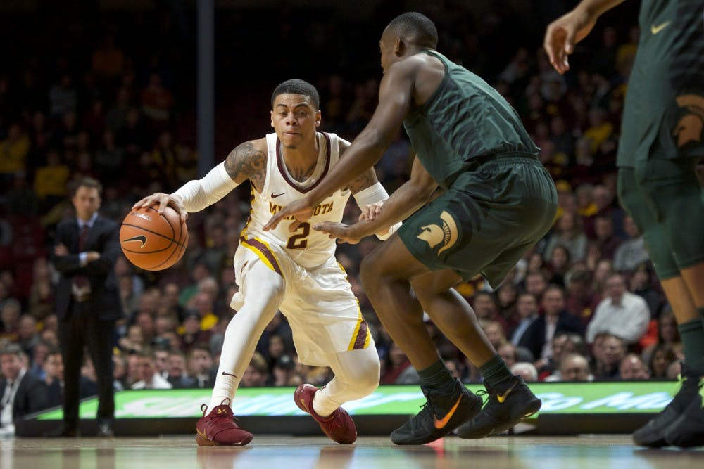 Gophers fall to Boilermakers in regular season finale