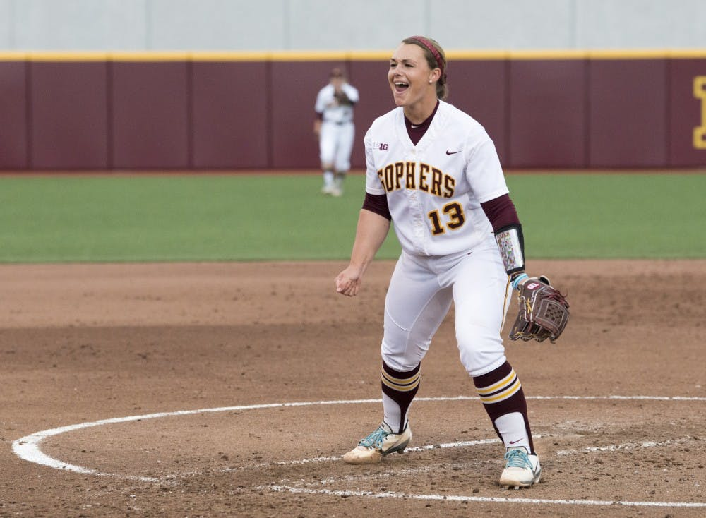 Gophers take two out of three from Northwestern