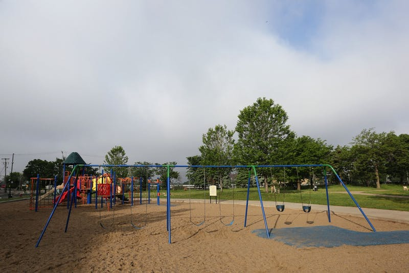 Currie Park is seen on Thursday, May 31, 2018 in Minneapolis