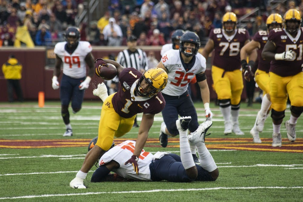Resurgent rushing attack sparks Gophers offense in homecoming victory