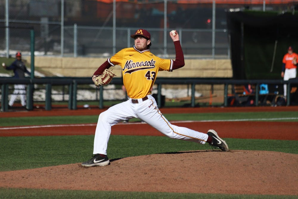 Gophers drop game to Milwaukee after ugly first inning