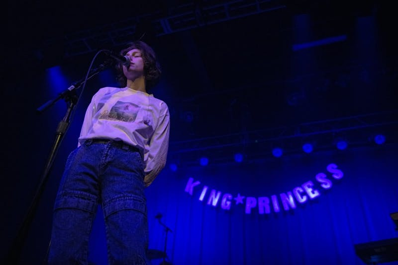 Mikaela Straus of King Princess performs at First Avenue on Thursday, Jan 17 in Minneapolis. The sold out show was part of the Pussy Is God tour.